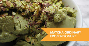 Matcha-Ordinary Frozen Yogurt Recipe
