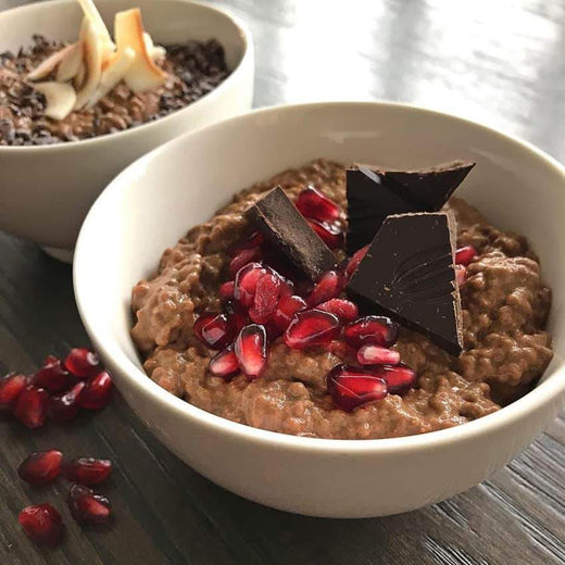 Peppermint Mocha Chia Pudding