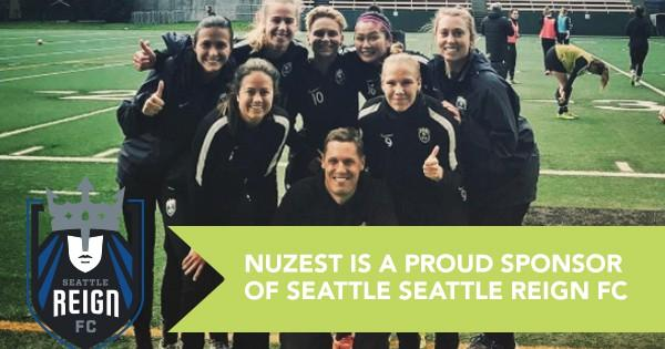 Nuzest is a Proud Sponsor of the Seattle Reign FC|
