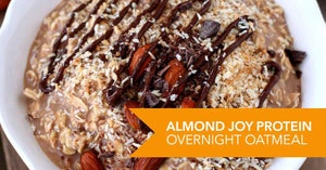 Almond Joy Protein Overnight Oatmeal Recipe