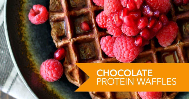 Chocolate Protein Waffles Recipe
