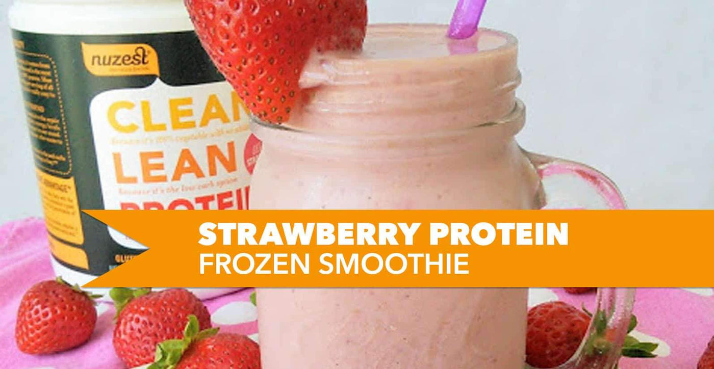 Strawberry Protein Frozen Smoothie Recipe