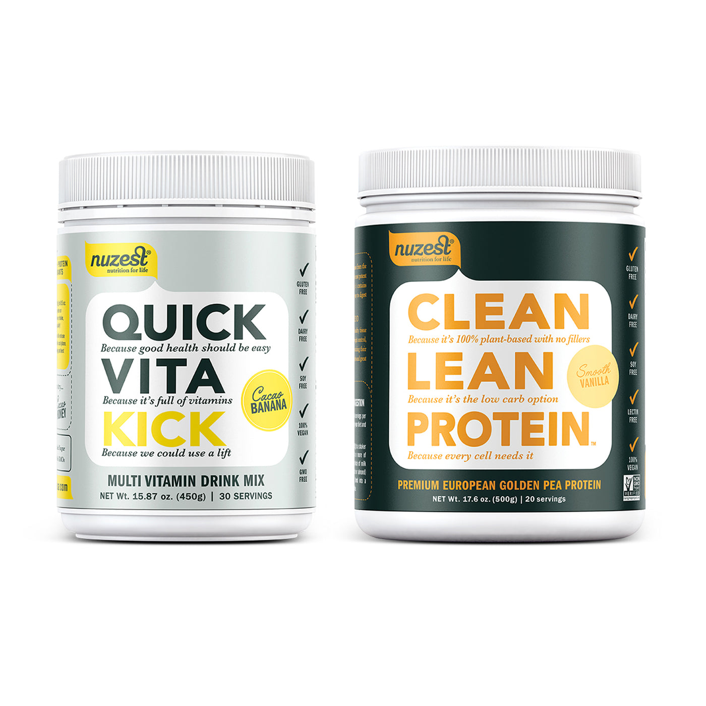 Quick Vita Kick Multivitamin Powder