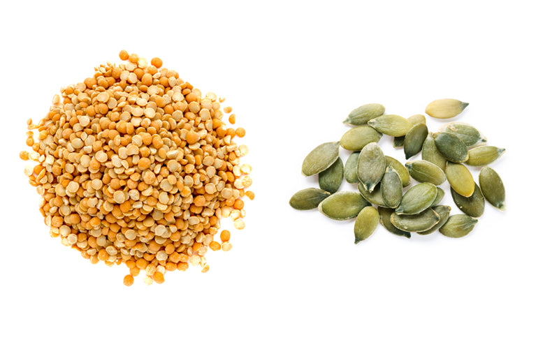 pea protein vs pumpkin seed protein