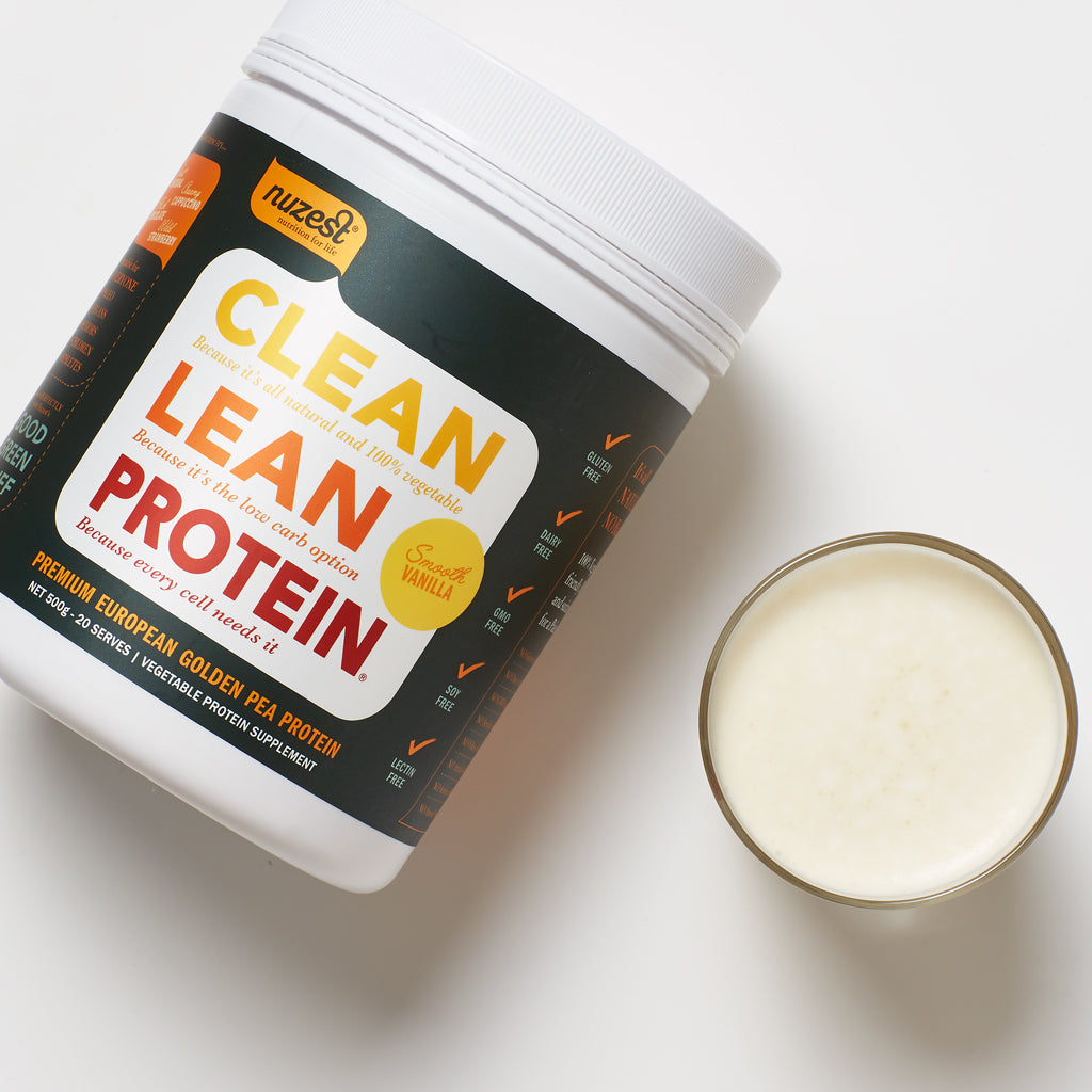clean lean protein vegan protein powder