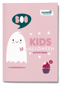 KIDS HALLOWEEN ACTIVITY BOOK