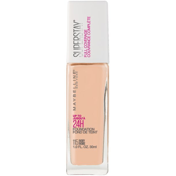 MAYBELLINE SUPERSTAY FULL COVERAGE FOUNDATION