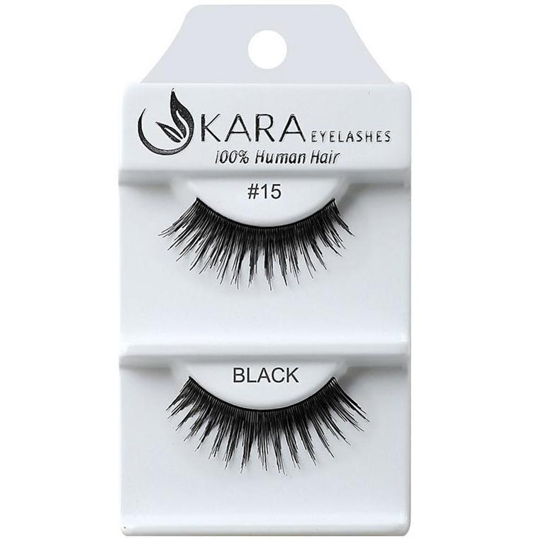 KARA human hair eyelashes #15
