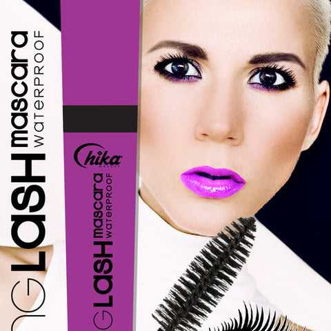 CHIKA LONG LASH MASCARA WATERPROOF (BLACK)