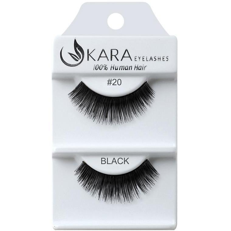 KARA human hair eyelashes #20