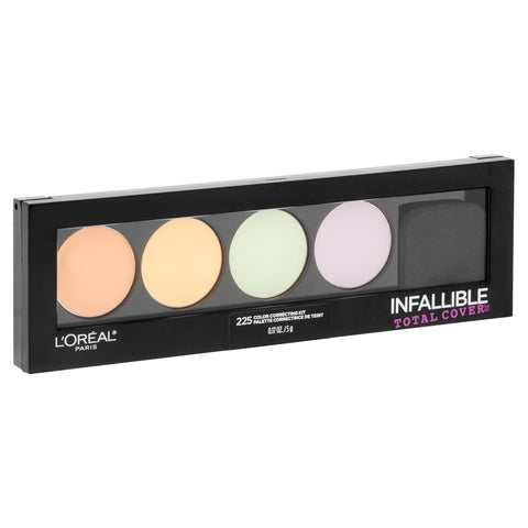 "L'OREAL INFALLIBLE TOTAL COVER COLOR CORRECT KIT ""225"""