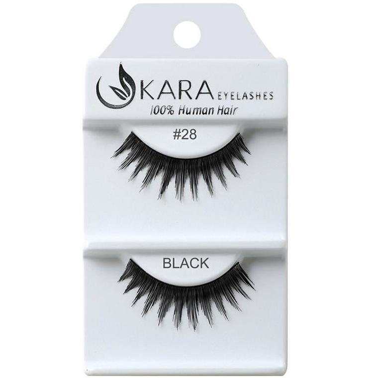 KARA human hair eyelashes #28