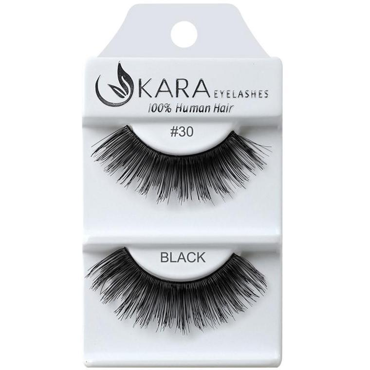 KARA human hair eyelashes #30