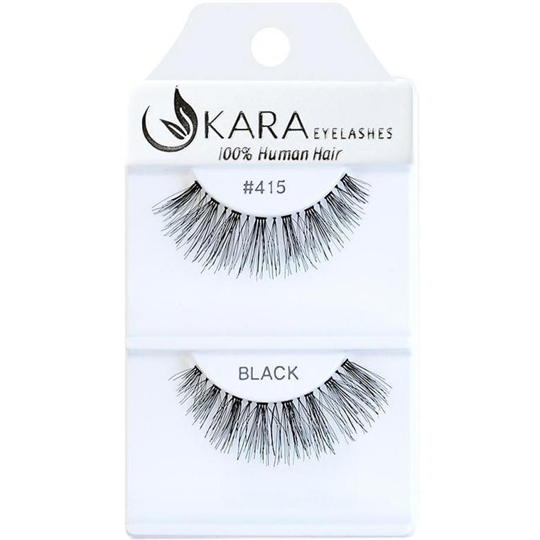 KARA human hair eyelashes #415