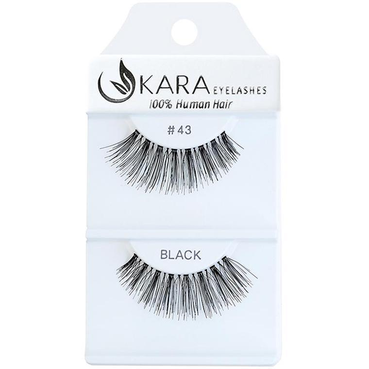 KARA human hair eyelashes #43
