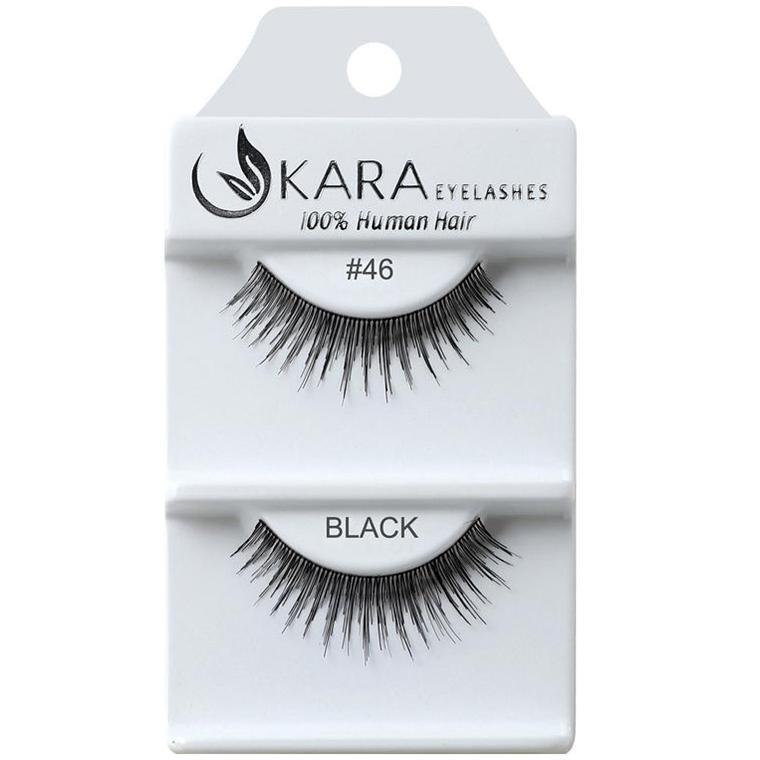 KARA human hair eyelashes #46