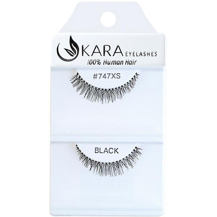KARA human hair eyelashes #747XS