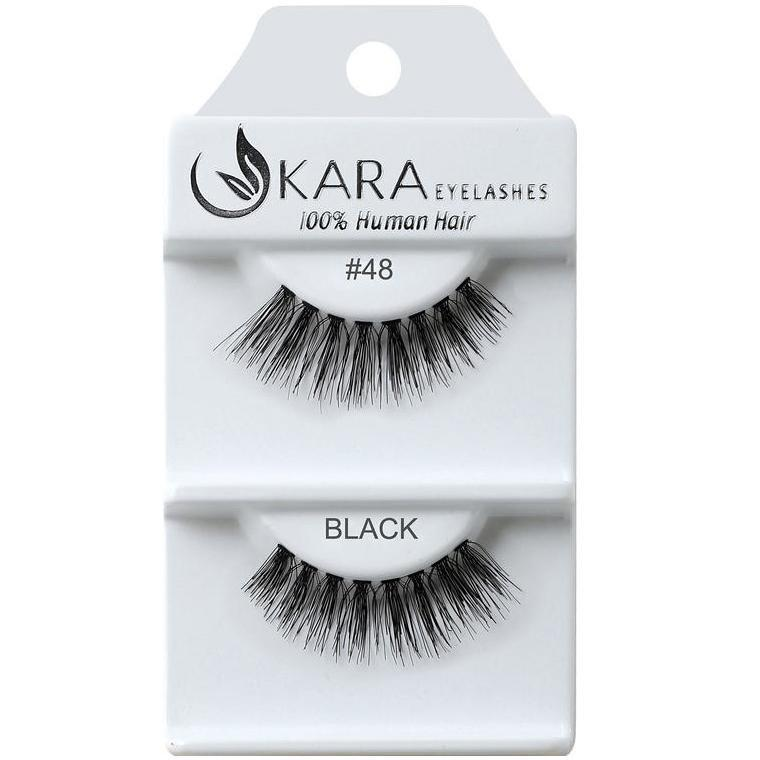KARA human hair eyelashes #48