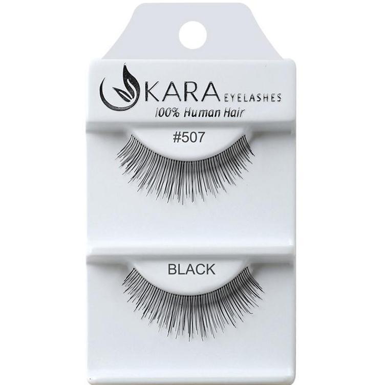KARA human hair eyelashes #507