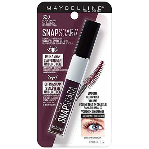 MAYBELLINE SNAPSCARA MASCARA 320 BLACK CHERRY