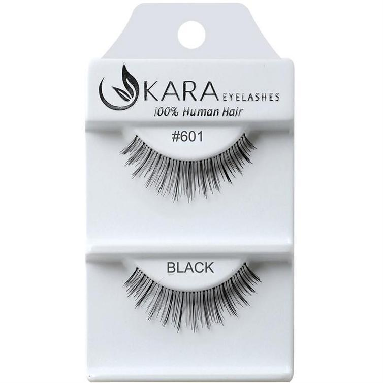 KARA human hair eyelashes #601