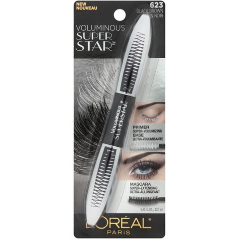 LOREAL VOLUMINOUS SUPER STAR (623 BLACK BROWN)