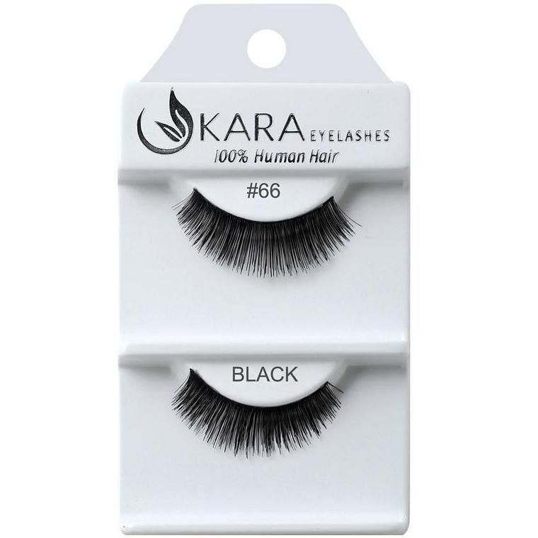 KARA human hair eyelashes #66