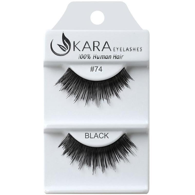 KARA human hair eyelashes #74
