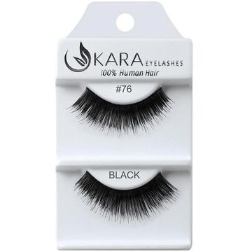KARA human hair eyelashes #76