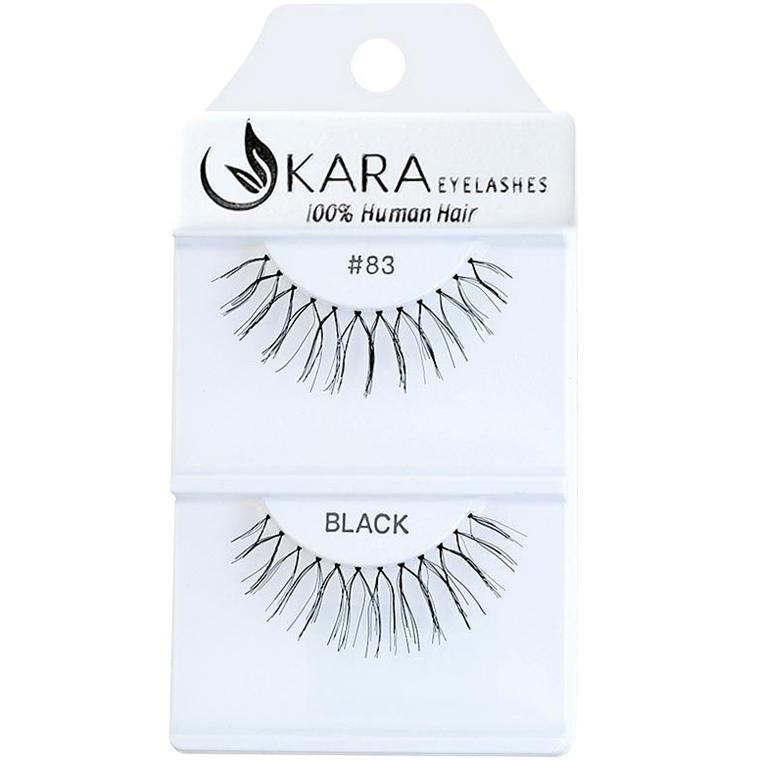 KARA human hair eyelashes #83