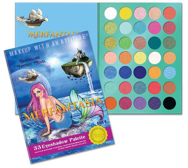 "RUDE COSMETICS ""MERFANTASIA"" PALETTE (BOOK 8)"