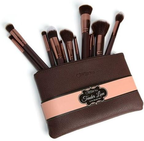BEAUTY CREATIONS 12 PCS BRUSH SET (TENDER LOVE)