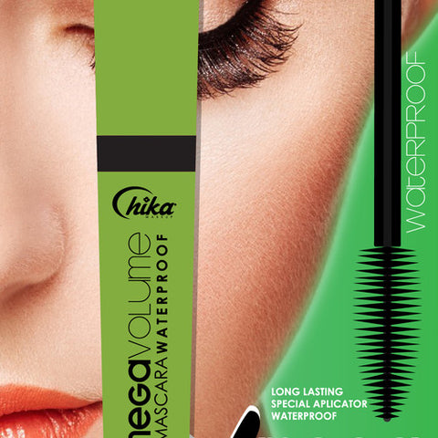 CHIKA X MEGA VOLUME MASCARA WATERPROOF                                                               CHIKA X MEGA VOLUME MASCARA WATERPROOF (BLACK)