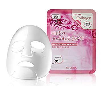 3W CLINIC COLLAGEN FACIAL MASK