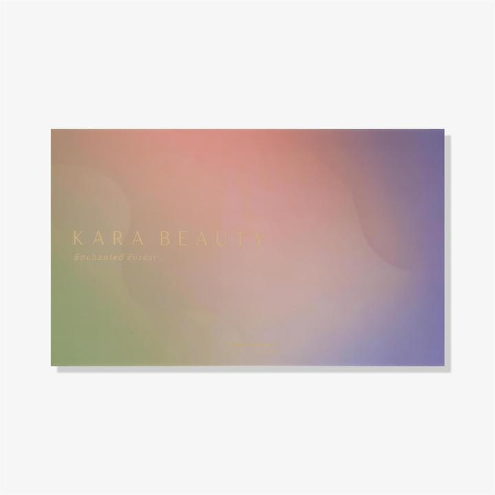 "KARA BEAUTY EYESHADOW PALETTE ""ENCHANTED FOREST"""
