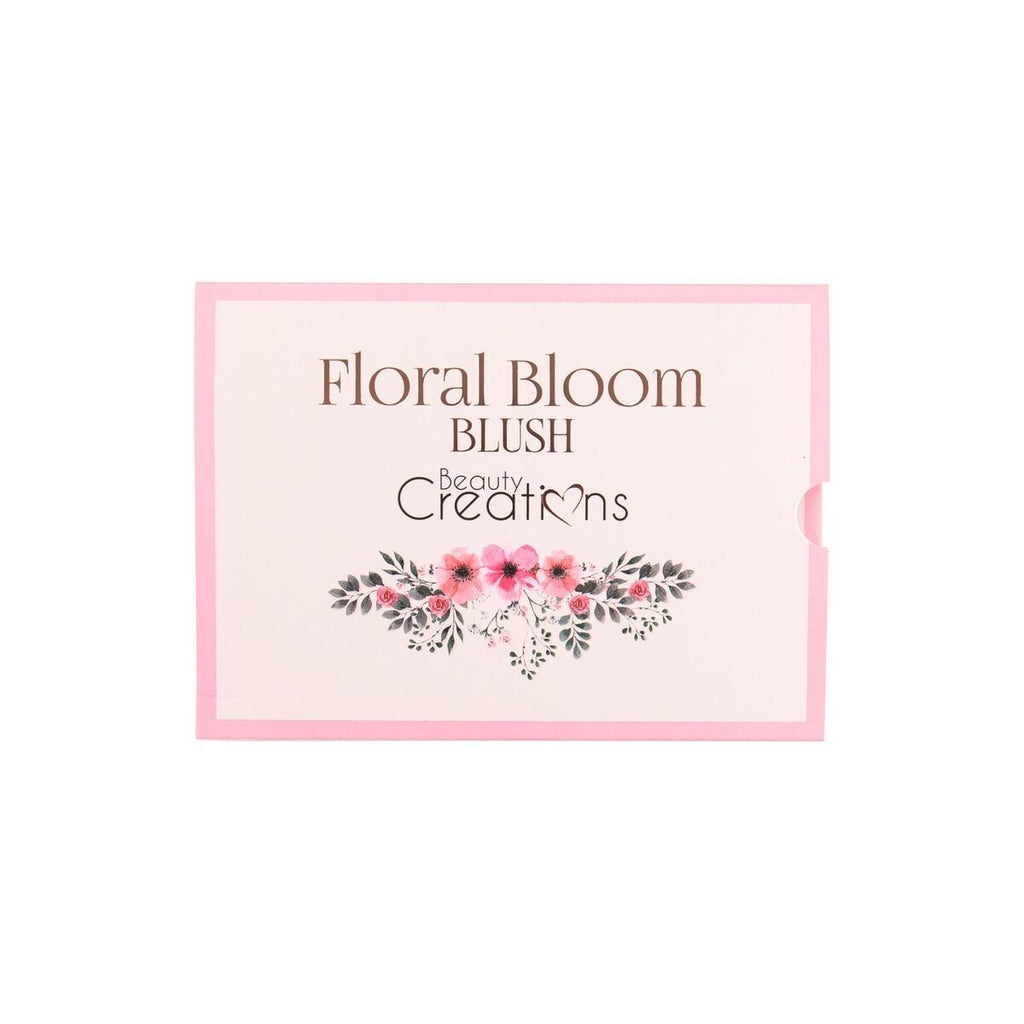 "BEAUTY CREATIONS BLUSH PALETTE ""FLORAL BLOOM"""