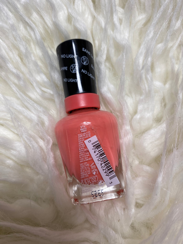 sally hansen miracle gel #210