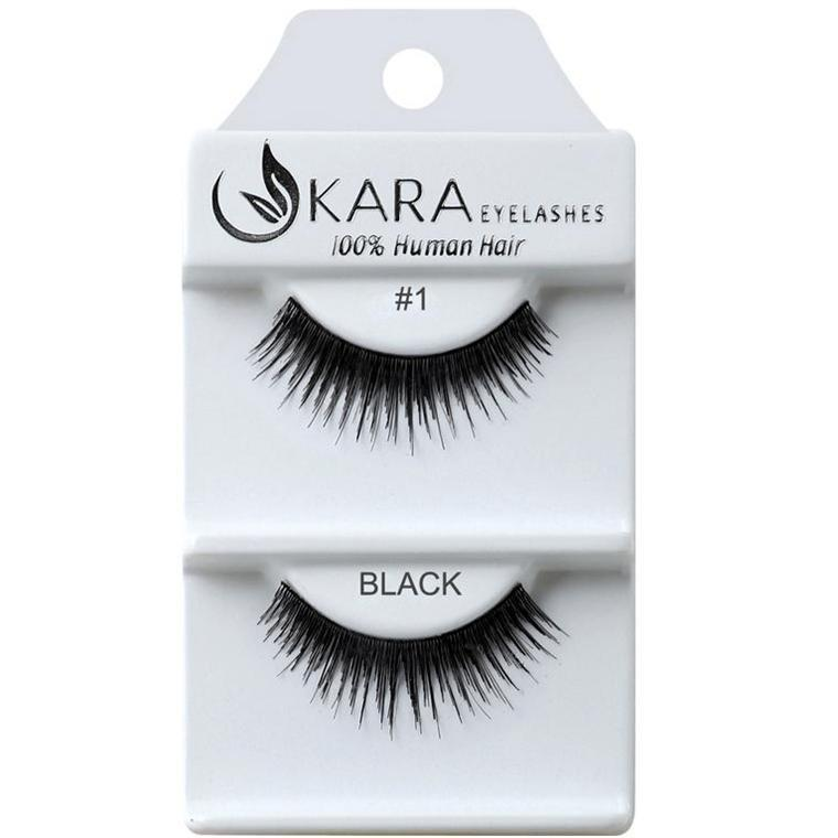 KARA EYELASH HUMAN HAIR- #1