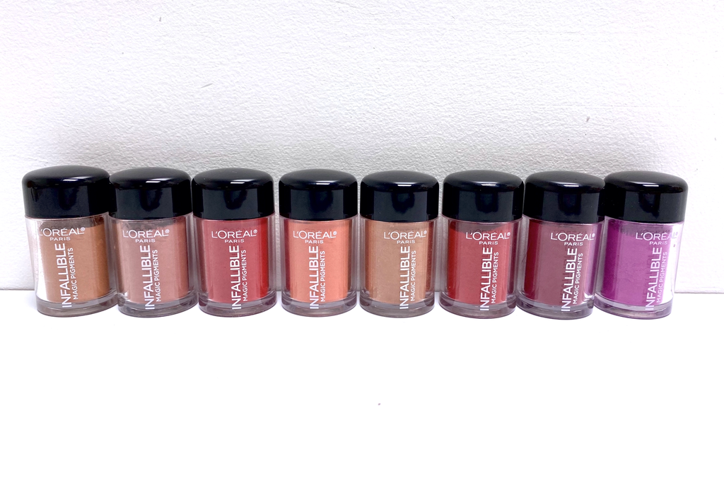 L'OREAL INFALLIBLE MAGIC LIP PIGMENTS