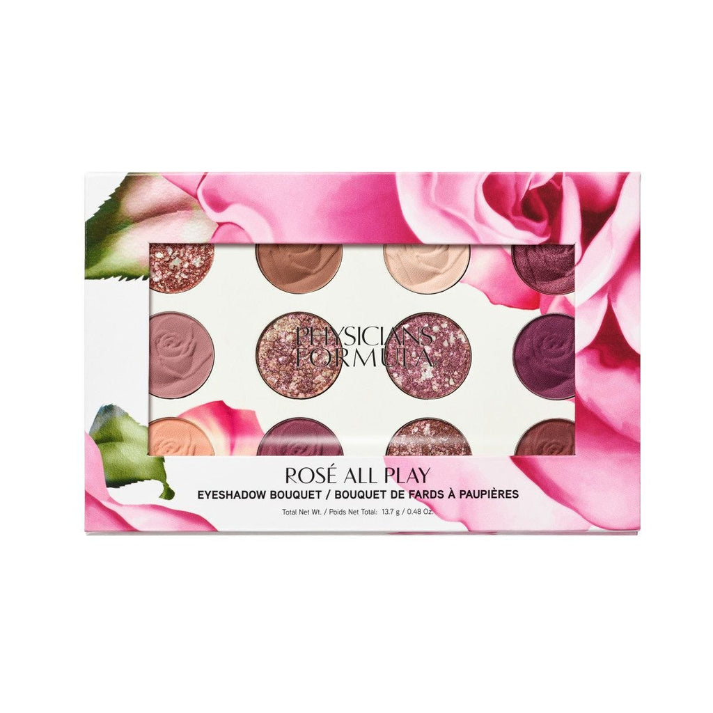 PHYSICIANS FORMULA ROSE ALL PLAY EYESHADOW PALETTE