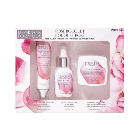 PHYSICIANS FORMULA ROSÉ BOUQUET SKIN CARE KIT