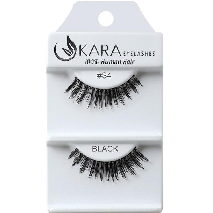 KARA human hair eyelashes #S4