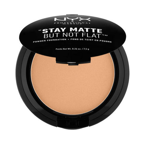 "NYX ""STAY MATTE BUT NOT FLAT"" POWDER FOUNDATION SMP05 SOFT BEIGE"