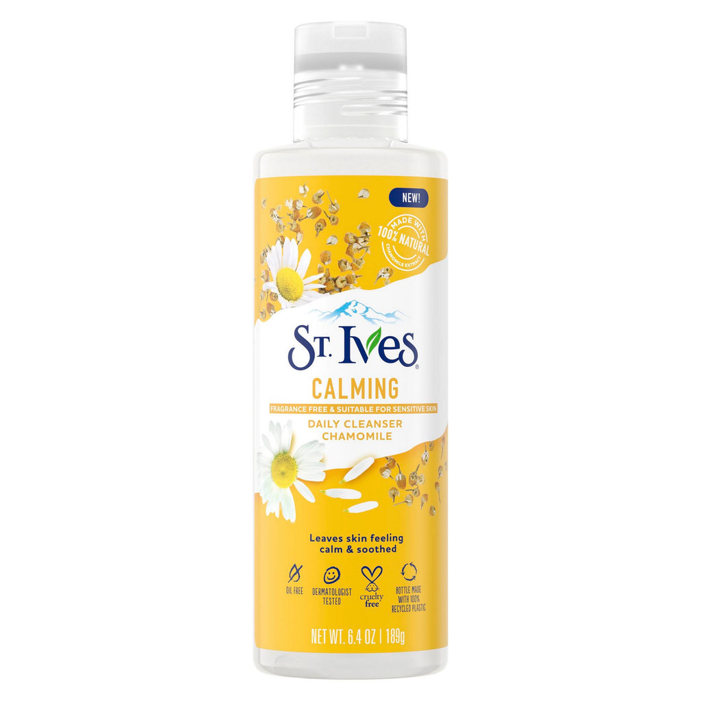 ST. IVES CALMING DAILY CLEANSER