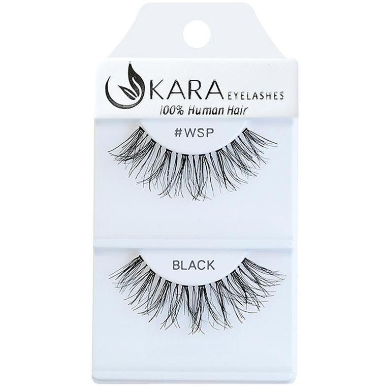 KARA human hair eyelashes #WSP