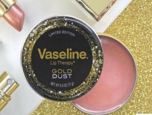 "VASELINE LIP THERAPY ""GOLD DUST"""
