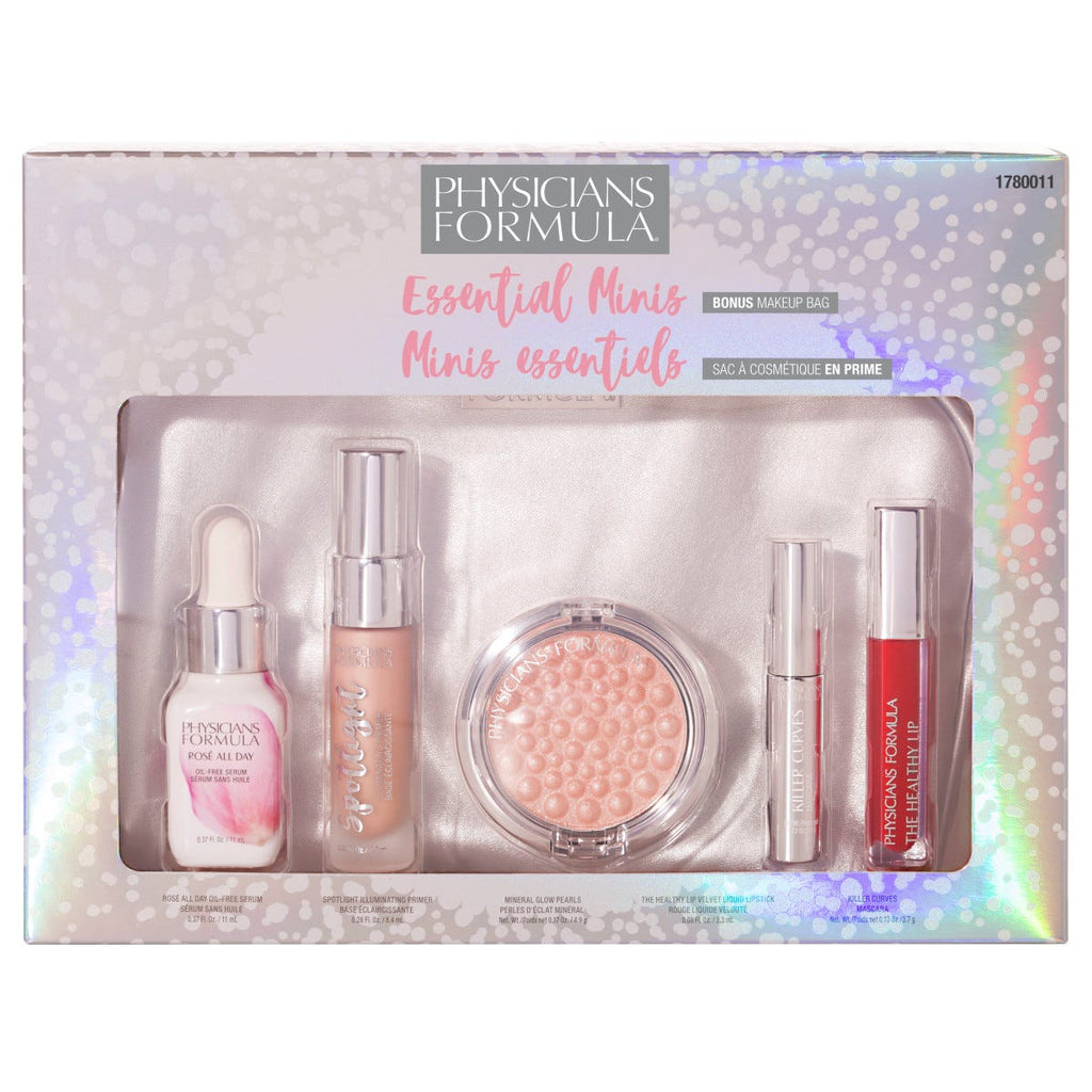 PHYSICIANS FORMULA ESSENTIAL MINIS *BONUS MAKEUP BAG*