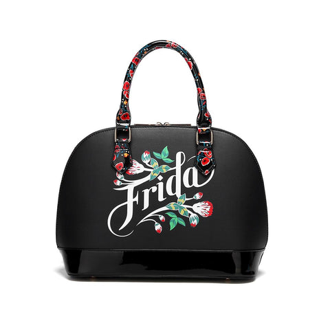 FRIDA KAHLO FLORAL BOUNTY DOME SATCHEL
