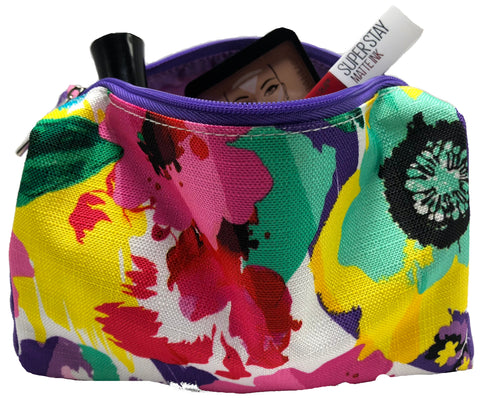 Clinique Flower Cosmetic Bags