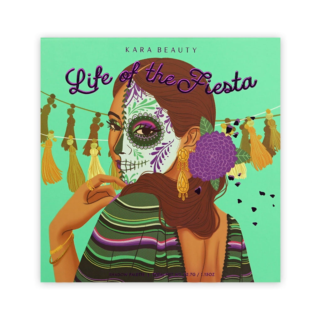 "KARA BEAUTY EYESHADOW PALETTE ""LIFE OF THE FIESTA"""